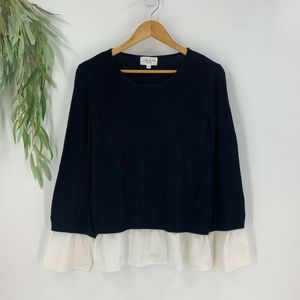 Feel The Piece Terre Jacobs Ribbed Sweater OS